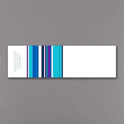 Sensational Stripes - Icing - Aqua