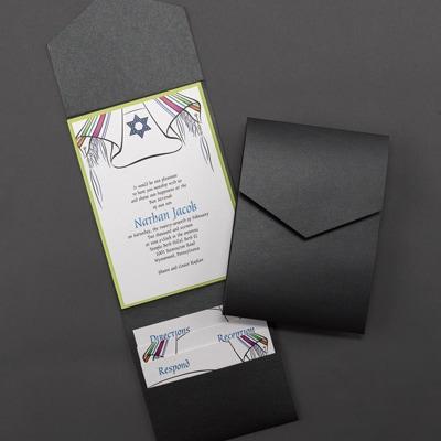 Shawl Shimmer Pocket - Invitation