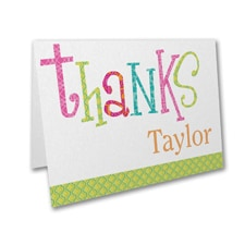 Captivating Combo - Bat Mitzvah - Thank You Note