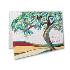 Tree of Life - Cerulean - Thank You Note