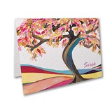 Tree of Life - Magenta - Note Folder and Envelope