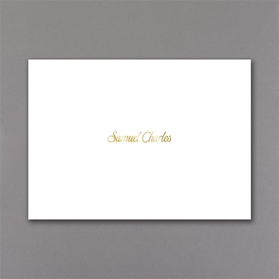 Ritzy Style - Thank You Note