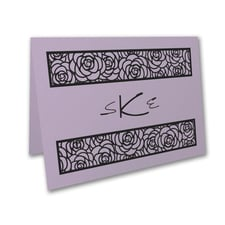 Meaningful Mitzvah - Girl - Thank You Note - Lavender