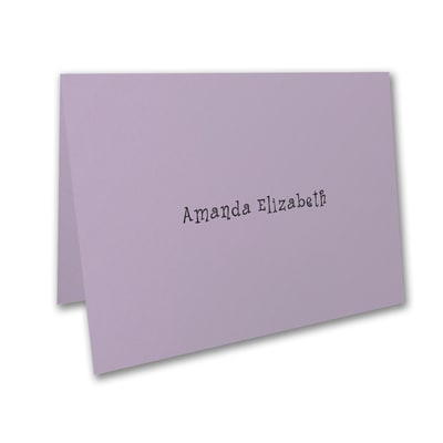 Thank You Note - Lavender