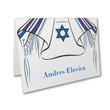 Tallit and Star - Thank You Note