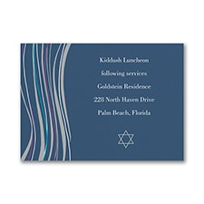 Tzitzit - Reception Card