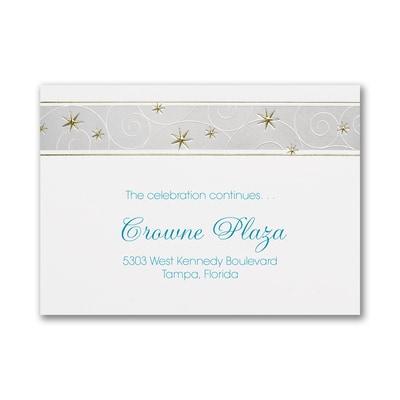 Modern Stars - Reception Card
