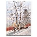 Winter Birch Card
