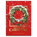 Festive Wreath Card