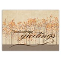 Thanksgiving Treeline Card