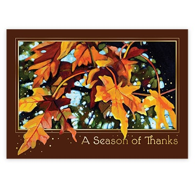 Autumn Glow Card