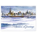 Chicago Snowfall Card