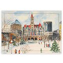 Wintertime in Rice Park Card