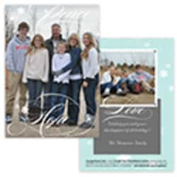 Peace Hope Card<br>1 or 2 Photo Options