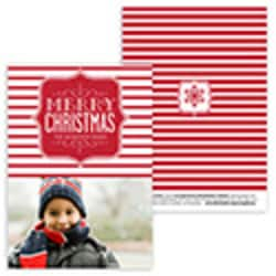 Merry Christmas Card <br>1 or 3 Photo Options