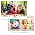 Multi-color Card<br>1 or 3 Photo Options