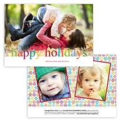 Multi-color Photo Card