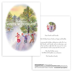 Winter Wonderland Panel Card