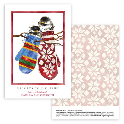 Knitted Nest Panel Card