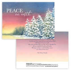 Morning Snow Panel Card
