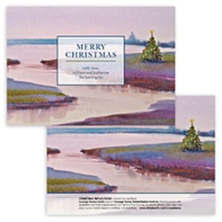 Christmas Reflections Card<br>  0 or 1 Photo Options