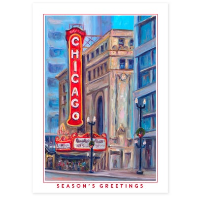 Chicago Theater Card