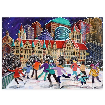 St. Paul Skaters Card