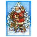 Santa and Friends Card
