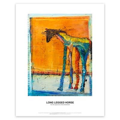 Long Legged Horse Art Print