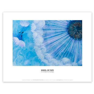 Wheel of Fate Art Print