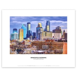 Minneapolis Morning Art Print