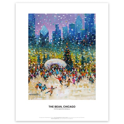 The Bean, Chicago Art Print