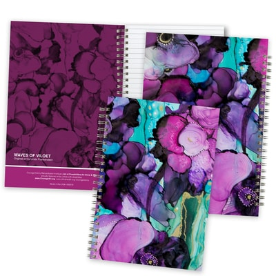 Waves of Violet Journal