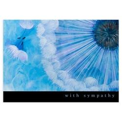 Wheel of Fate Sympathy Card