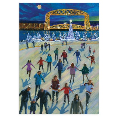 Holiday Time in Duluth Card