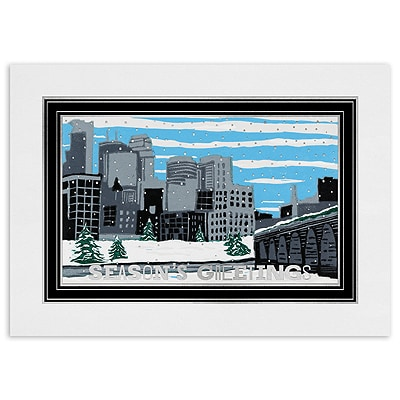 Winter Skyline, Minneapolis