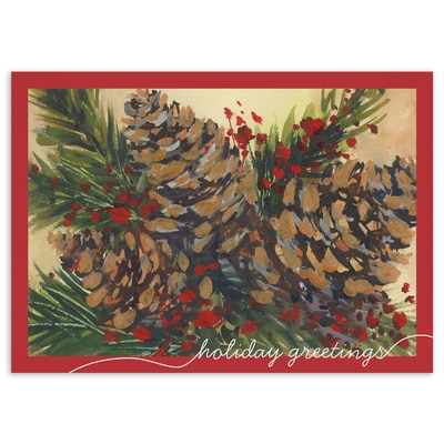 Holiday Pinecones