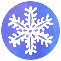 Snowflake Wish Seal