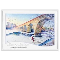 Stone Arch Bridge Cardinal