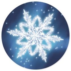 Spectacular Snowflake Envelope Seal