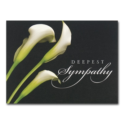 The Beauty of Lilies Card