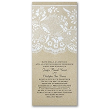 Homespun Bridal - Invitation