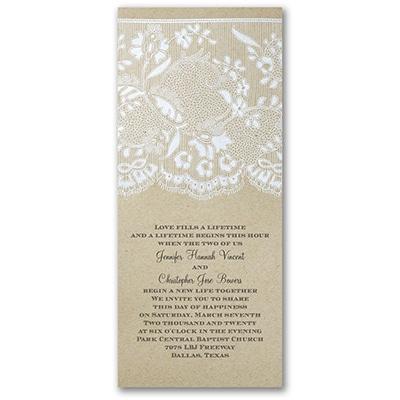 Homespun Bridal - Invitation