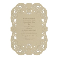 Vintage wedding invitation: Fancy That