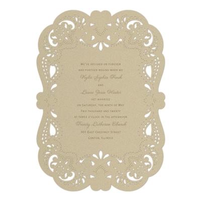 fancy that invitation wedding invitations carlson craft