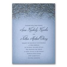 Wedding Invitation: Glowing Fantasy
