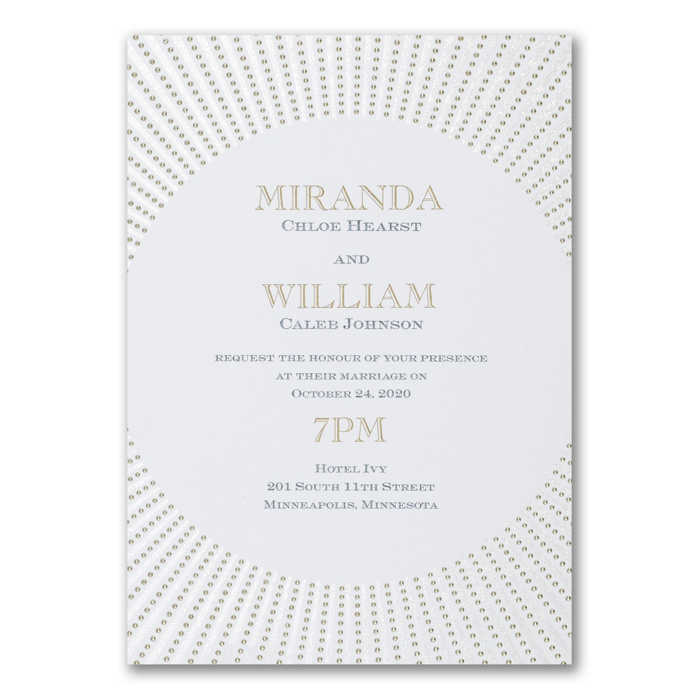 Spotlight Invitation Wedding Invitations Carlson Craft Wedding