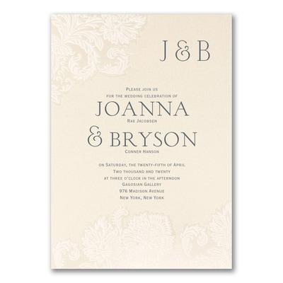 Bohemian Elegance - Invitation
