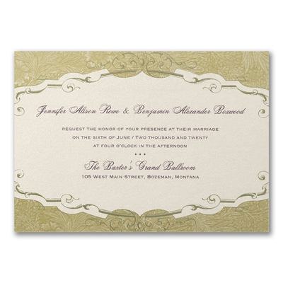 Storybook Charm - Invitation