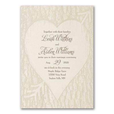 Tree of Love - Invitation, Trendy Wedding Invitations